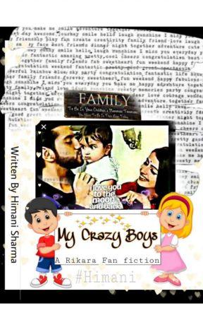 My Crazy Boys by Poorvimani