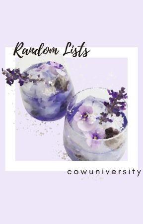 Random Lists by cowuniversity