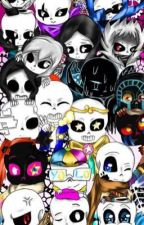 Sans AUs x Seme male oc or male/female  reader (if requested) by moondragonfire2001