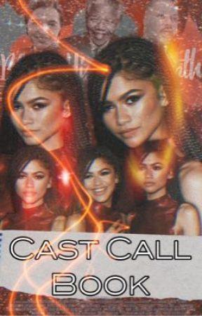 Cast Call Book by brownbuttah