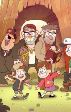 Our mystery Town , Gravity Falls by CODYARMY