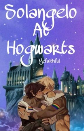 Defending and teaching Hogwarts (Solangelo) by Waves-And-Stars