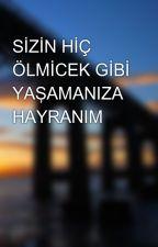 SİZİN HİÇ ÖLMİCEK GİBİ YAŞAMANIZA HAYRANIM by erin_111