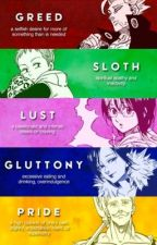 Shadow male reader x seven deadly sins by ninetailedkitsune16