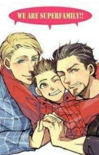 Stony! Captain America x Iron Man cover