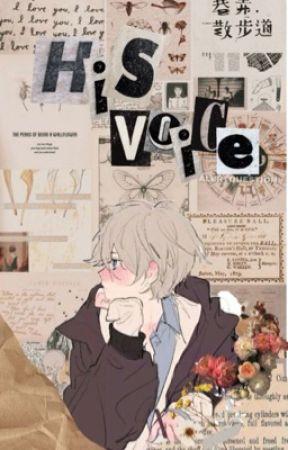 His Voice [Haikyuu x Male Reader Insert] by AlertQuestion