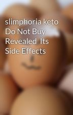 slimphoria keto Do Not Buy Revealed  Its Side Effects by ffgfsudyg