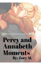 Percy and Annabeth Moments by mechanical_pencils_-