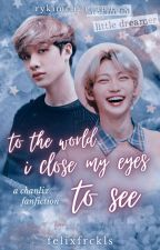 To The World I Close My Eyes To See // Chanlix [END]  by felixfrckls