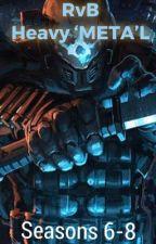 Red vs Blue: Heavy 'META'L by Fireslash97