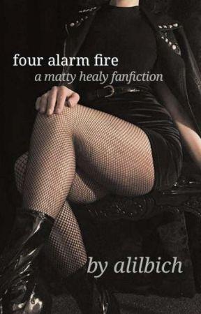 four alarm fire // matty healy by alilbich