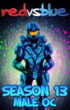 Red vs Blue Season 13: Male OC by xSpartanLeox