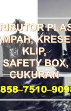BERKUALITAS, +62 858-7510-9098, Harga Kantong Plastik Kresek Bening Semarang by Grosirplastikklip