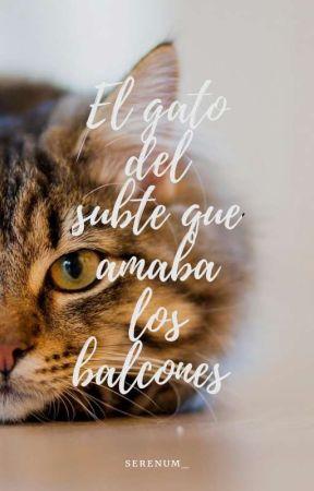 El gato del subte que amaba los balcones by Serenum_