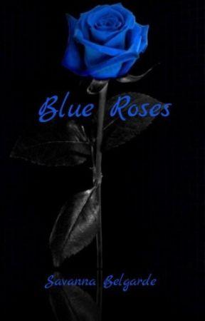 Blue Roses by SavannaBelgarde