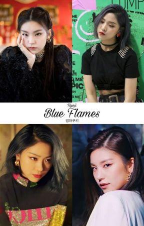 Blue Flames ★ Ryeji by SapphicCookie