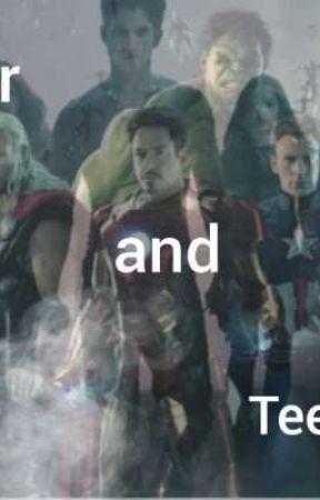 Teen Wolfské a Avengerské (básně) by zuzulec_123
