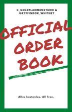 Official order book by BlaettermondVerlag