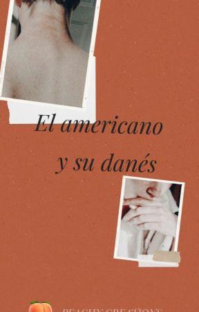 El americano y su danés by PeachyCreations