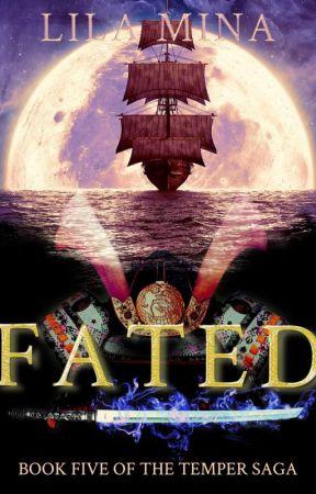 Fated - a LGBTQ time-travel romance (book 5 of the Temper saga) by Lila-Mina