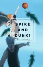 Spike and Dunk! (Haikyuu!! × KnB crossover)  by Katsu18-20Chan