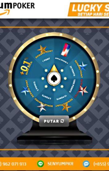 Bonus Luckyspin Agen Poker Online Senyum Poker Asia Senyumpoker88 Wattpad