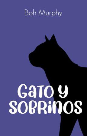 Gato y sobrinos by comisario-carrell