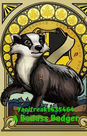 A Badass Badger by Yaoifreak1435464