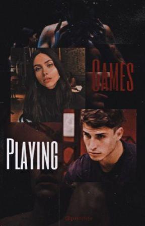 Playing Games • Felipe Prior by drwcomalfoy