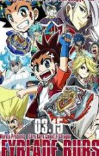 Beyblade Burst Turbo: Night of the Living Zombies by miracat33
