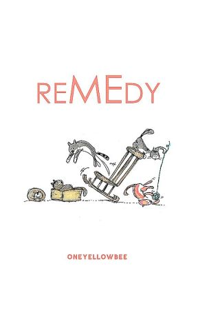 remedy | graphic book | zamknięte by oneyellowbee