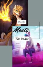 The Softie Meets The Badie  by Darky-Daddy