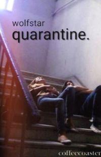 quarantine - a modern wolfstar au. cover