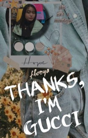 THANKS, I'M GUCCI   miscellaneous by fhreyachaes