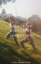 lights up ━━ j.s.potter by thelibertines
