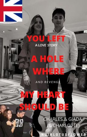 You left a hole where my heart should be.  ENG version. | Charles & Giada | by noirlotusflower