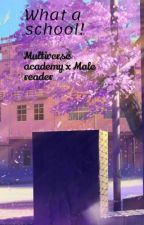 Multiverse academy x Male reader by Monksanto