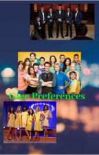 Glee Preferences by Gleekgirl5