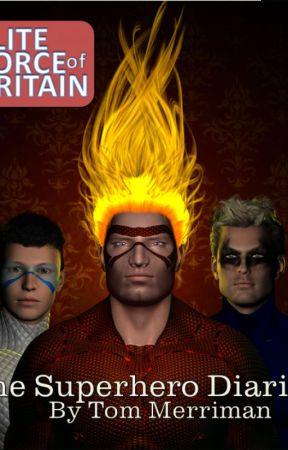 The Superhero Diaries by TLMerriman