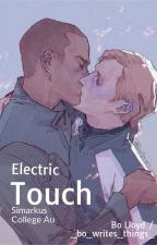Electric Touch || Simarkus College Au by theboatsandthebees
