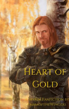 Heart of Gold (Brynjolf) by emmaofthe9fingers