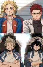 Toshinori x Reader x Aizawa x Enji x Hizashi  by StupidWeebo