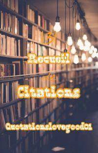 Recueil de citations |3| cover