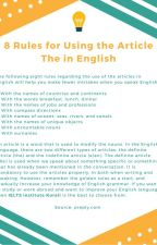 8 Rules for Using the Article The in English by svikramjit569