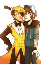 Dipper x Bill  by Sparky_The_Wolf