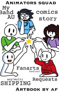 Animators Squad Comic cover