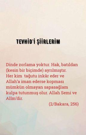 TEVHİD'İ ŞİİRLERİM by TakintiliSair-Tevhid