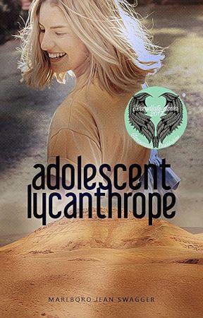 Adolescent Lycanthrope by elegydriftin