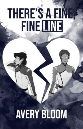 There's a Fine, Fine Line by averyscribbles