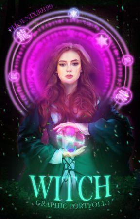 WITCH graphic portfolio by MisaLaj